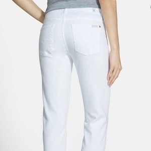 """NEW-7 for all mankind-""""Kimmie"""" straight leg Jeans"""